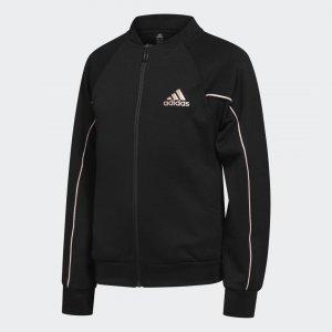 Куртка-бомбер Tiger Performance adidas. Цвет: черный