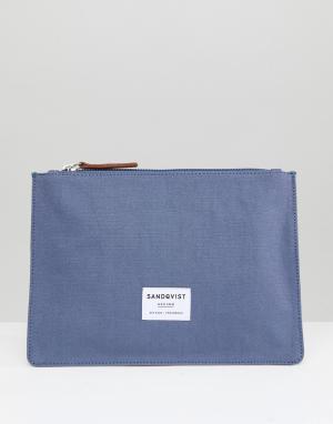 Дорожный кошелек Ture Sandqvist. Цвет: серый