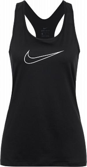 Майка женская Pro, размер 48-50 Nike. Цвет: черный