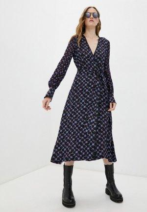 Платье Karl Lagerfeld. Цвет: черный