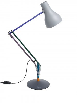 Настольная лампа из коллаборации с Paul Smith Anglepoise. Цвет: белый