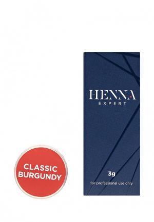 Хна для бровей Henna Expert (Classic Burgundy), 3гр.. Цвет: коричневый