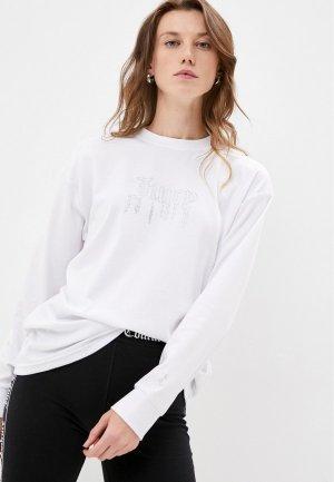 Лонгслив Juicy Couture CARDI. Цвет: белый