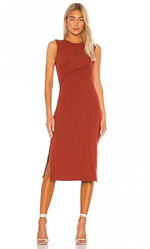 Платье eos Joie. Цвет: красный