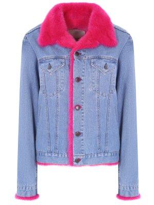 Джинсовая куртка с мехом RINDI