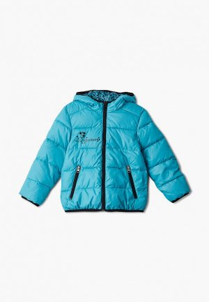 Куртка утепленная АксАрт. Цвет: голубой