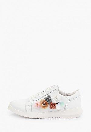 Кроссовки Inario. Цвет: белый