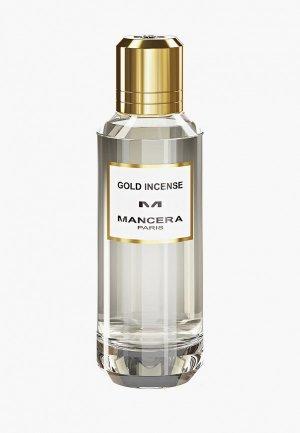 Парфюмерная вода Mancera GOLD INCENSE EDP 60 ml. Цвет: белый