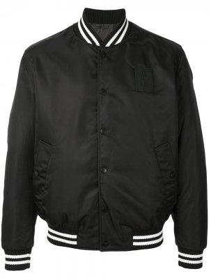 Легкая куртка BOSS. Цвет: черный