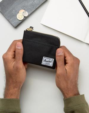Черный бумажник Johnny-Черный цвет Herschel Supply Co