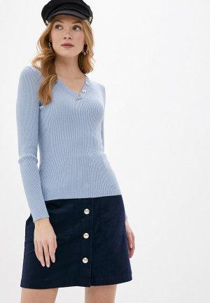 Пуловер Love Republic Exclusive online. Цвет: голубой