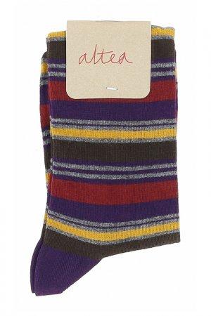 Носки Altea. Цвет: фиолетовый