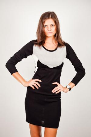 Платье LiberaVita. Цвет: черный