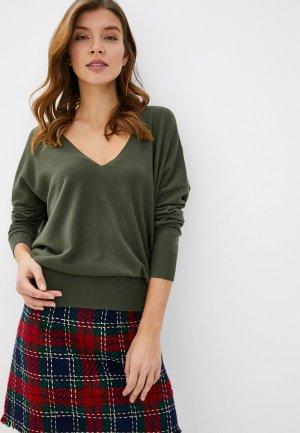 Пуловер By Swan. Цвет: зеленый