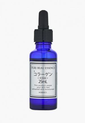 Сыворотка для лица Japan Gals с коллагеном Pure beau essence 25 мл. Цвет: белый