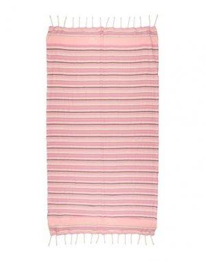 Пляжное полотенце TWINSET. Цвет: розовый