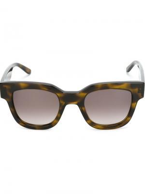 Солнцезащитные очки Type 05 Sun Buddies. Цвет: коричневый