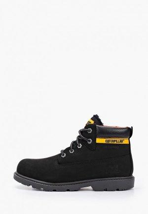 Ботинки Caterpillar COLORADO PLUS FUR WP. Цвет: черный