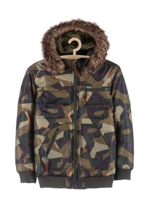 Куртка зимняя 5.10.15.. Цвет: зеленый