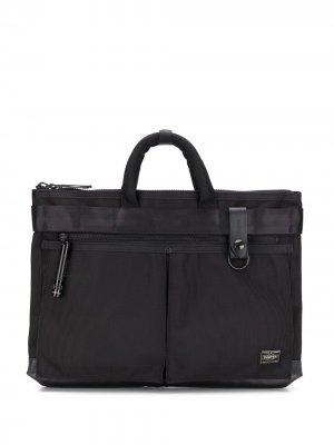 Сумка для ноутбука с карманами Porter-Yoshida & Co. Цвет: черный