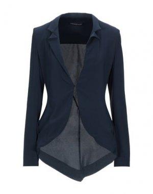 Пиджак FRANCESCA PICCINI. Цвет: темно-синий