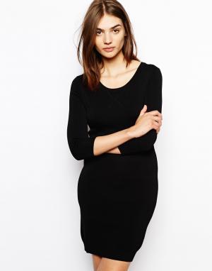 Knitted Little Black Dress BZR. Цвет: черный