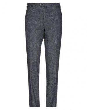 Повседневные брюки ANGELO NARDELLI. Цвет: свинцово-серый