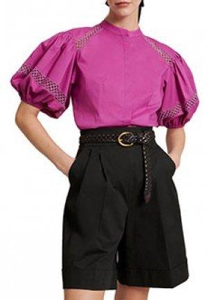 Рубашка LUISA SPAGNOLI. Цвет: фиолетовый