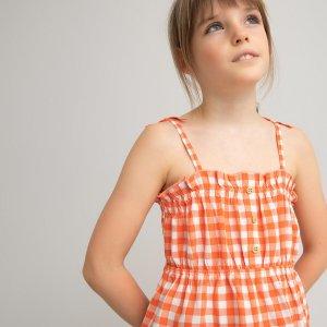 Блузка LaRedoute. Цвет: оранжевый