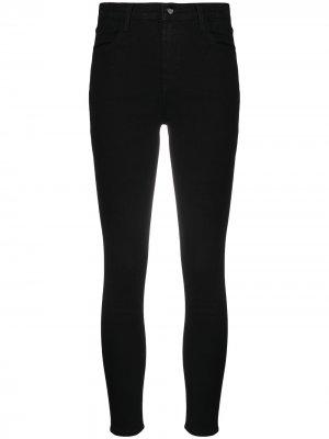 Укороченные джинсы кроя слим J Brand. Цвет: черный