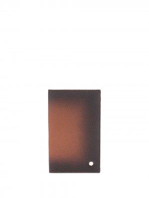 Складной картхолдер Orciani. Цвет: коричневый