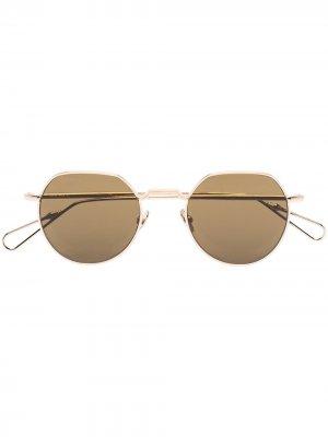 Солнцезащитные очки Dauphine Ahlem. Цвет: золотистый