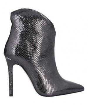 Полусапоги и высокие ботинки ALLURE. Цвет: стальной серый