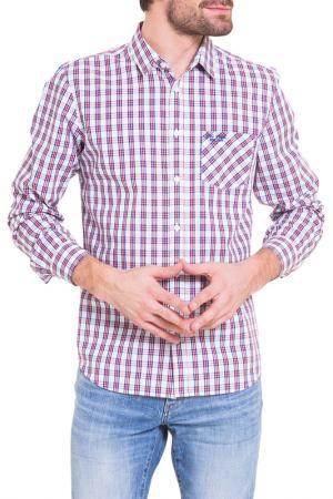 Рубашка BIG STAR. Цвет: white, red