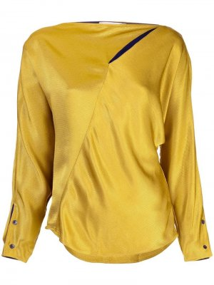 Асимметричная блузка с кейпом Palmer / Harding