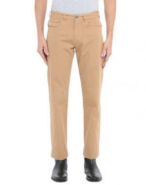 Повседневные брюки AQUASCUTUM. Цвет: верблюжий