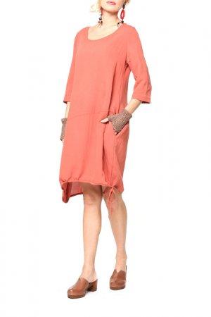 Платье Kata Binska. Цвет: терракотовый