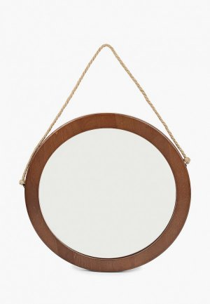 Зеркало настенное Мастер Рио. Цвет: коричневый