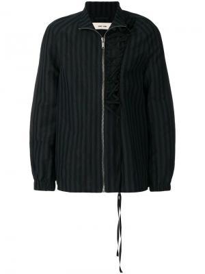 Полосатая куртка Jokull Damir Doma. Цвет: синий