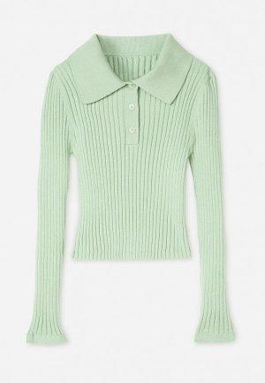 Поло Gloria Jeans. Цвет: зеленый
