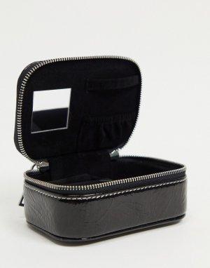 Черная шкатулка для украшений -Черный цвет Topshop