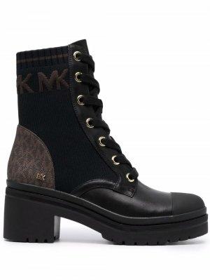 Ботинки Brea на шнуровке Michael Kors. Цвет: черный