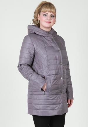 Куртка утепленная Wiko Илона. Цвет: фиолетовый
