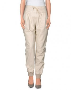 Повседневные брюки PHILIPP PLEIN. Цвет: слоновая кость