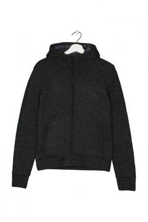 Куртка Hetrego. Цвет: вязанный трикотаж, серый