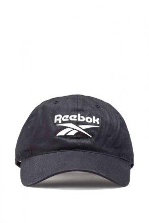 Бейсболка TE LOGO CAP Reebok. Цвет: черный