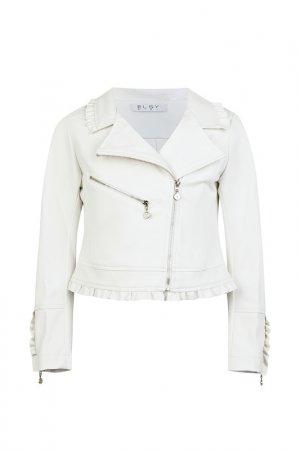 Куртка ELSY. Цвет: кремовый