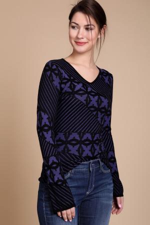 Пуловер Just Valeri. Цвет: фиолетовый