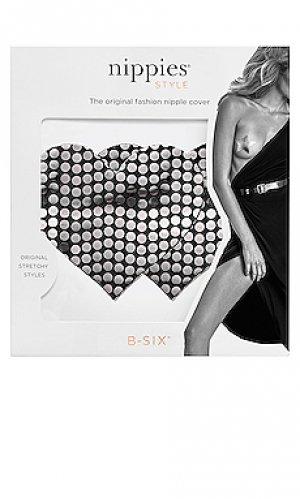 Blackout sequin heart nippie Bristols6. Цвет: черный