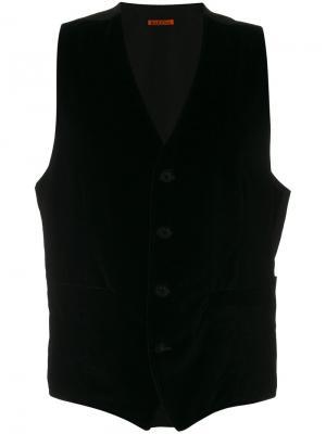 Классическая жилетка Barena. Цвет: чёрный